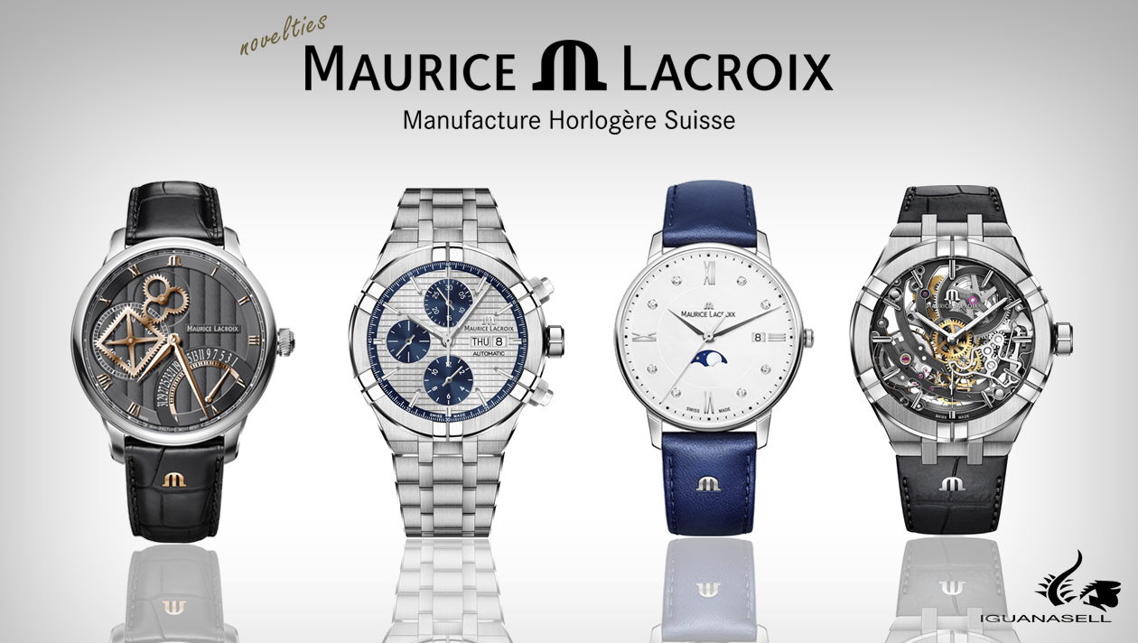 Maurice Lacroix automatic watch novelties.
