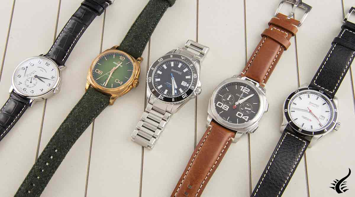 Anonimo and Eberhard watches