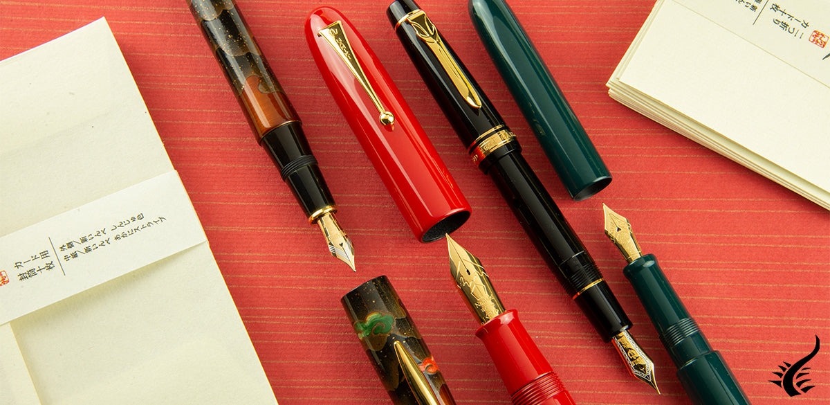 Japanese fountain pens