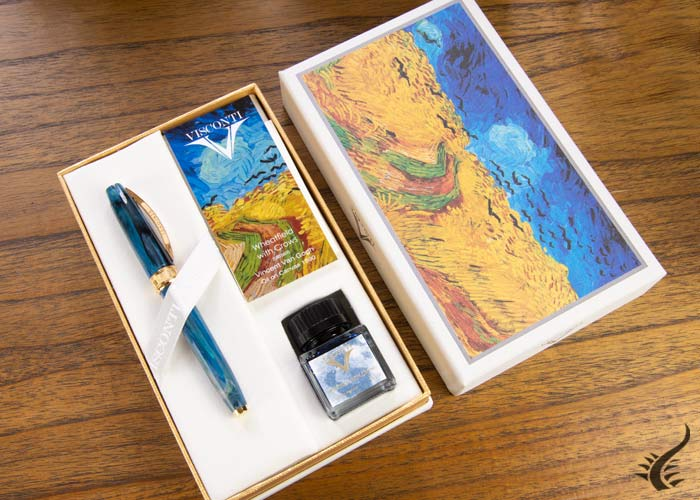 Visconti Van Gogh Wheatfield with Crows Set , Limited Ed., KP12-12-FP