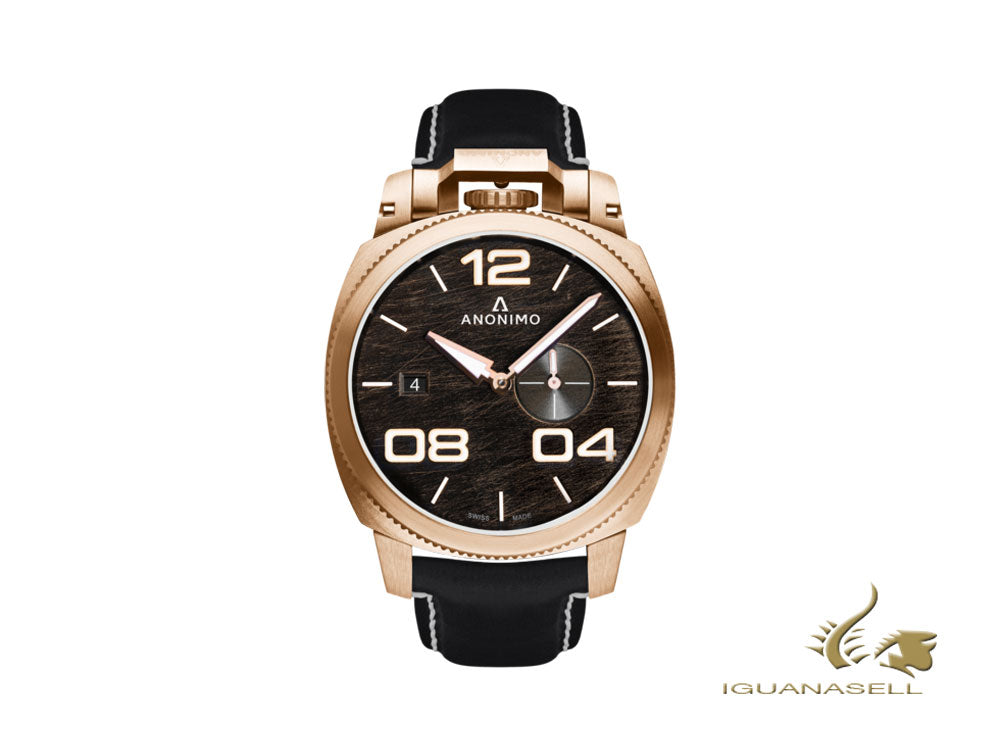 Anonimo Militare Automatic Watch, Bronze, 43,4 mm, 12 atm, AM-1020.04.001.A01