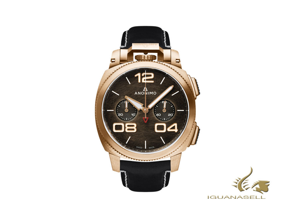 Anonimo Militare Chrono Automatic Watch, Bronze, 43,4 mm, AM-1120.04.001.A01