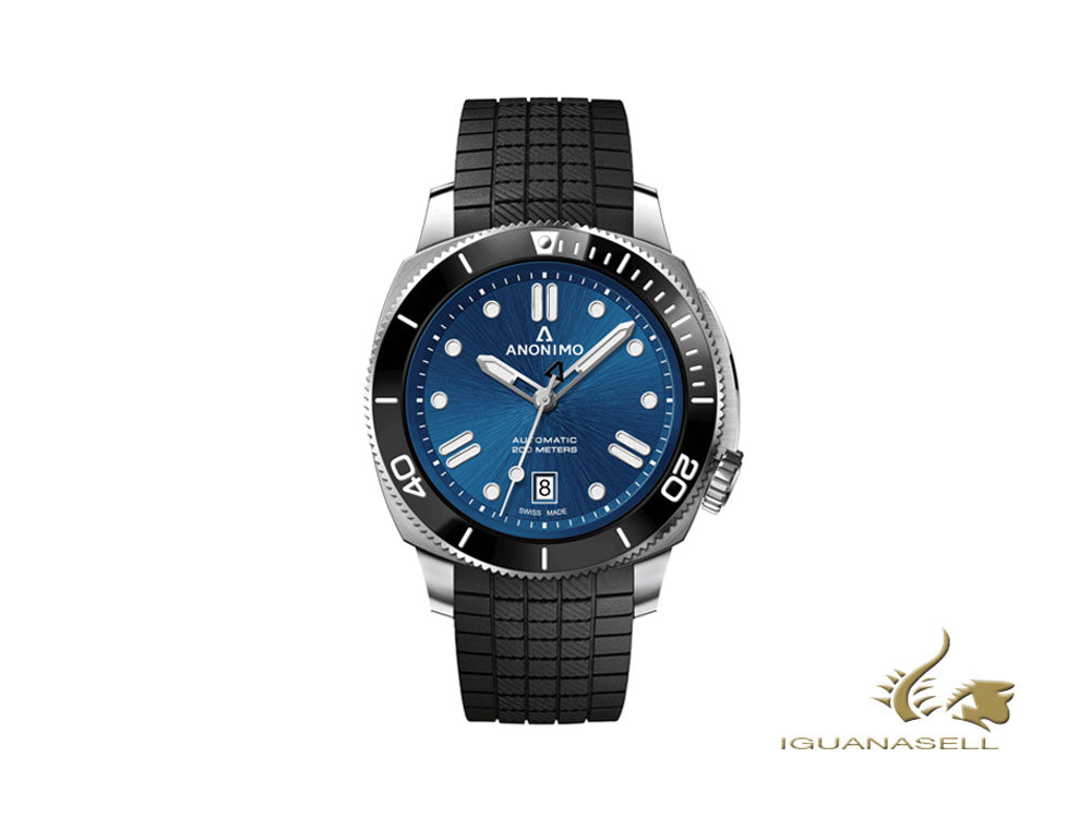 Anonimo Nautilo Classic Blue Automatic Watch, 42 mm, 20 atm, AM-5009.09.103.R11