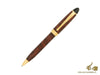 Aurora Ipsilon Ballpoint pen, Brown Lacquer, Gold trim, B33T
