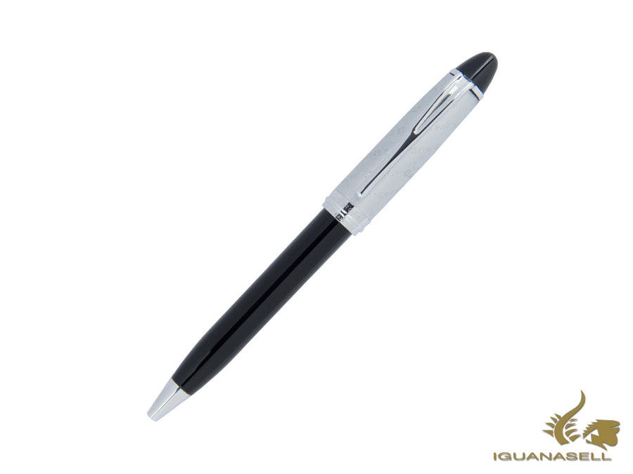 Aurora Ipsilon Ballpoint pen, Resin, Chrome trim, B31CD