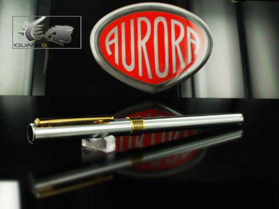 Aurora Marco Polo Fountain Pen Gold Plated Trims - New