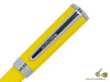 Aurora TU Ballpoint Pen - Yellow Resin - Chromed - T31Y