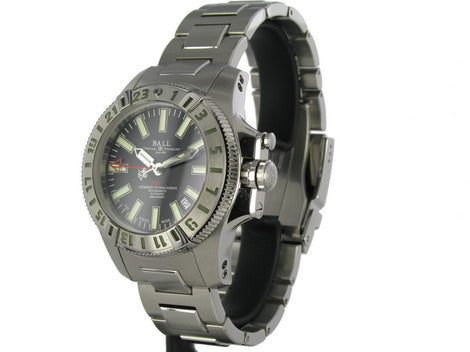 Ball Automatic Watch Engineer Hydrocarbon GMT II Black