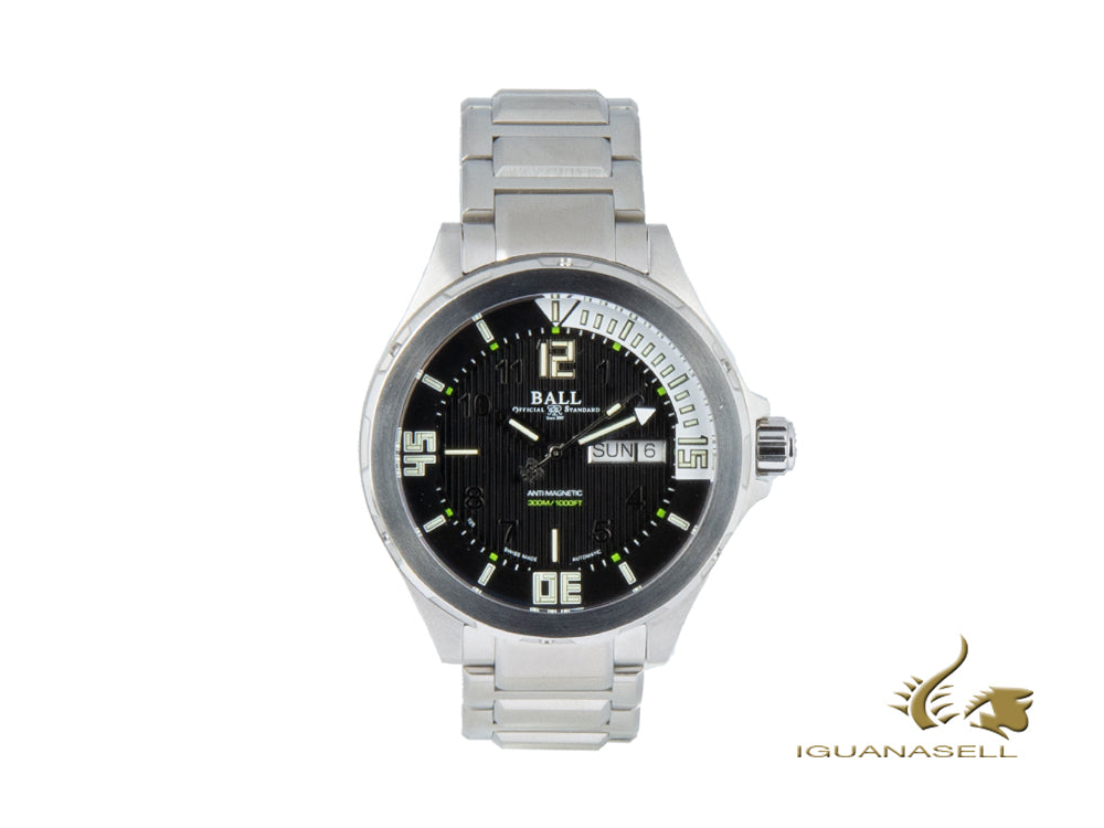 Ball Engineer Master II Diver Automatic Watch, Ball RR1102, DM3020A-SAJ-BK