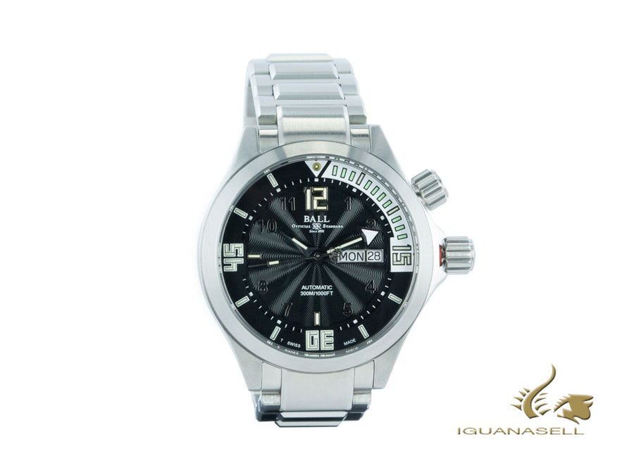 Ball Engineer Master II Diver Watch, Ball RR1102, Black/White, DM2020A-SA-BKWH