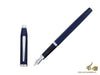 Cross Century II Fountain Pen, Lacquer, Blue, Rhodium trim, AT0086-103