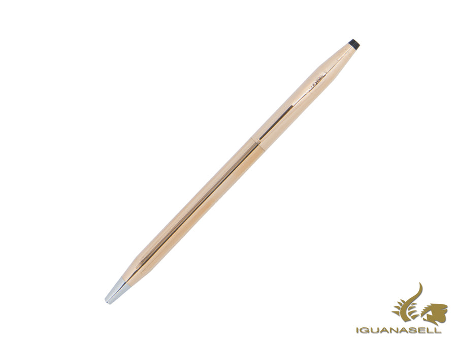 Cross Classic Century Ballpoint pen, 14K Rose Gold Filled, Pink, Polished