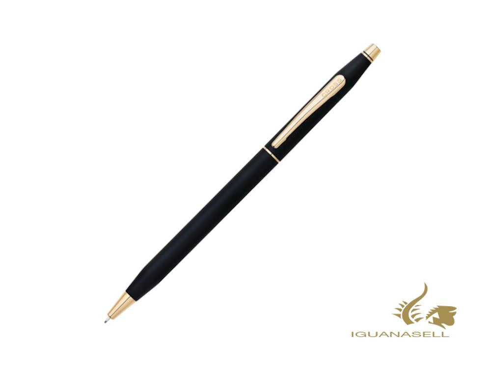 Cross Classic Century Mechanical pencil 0.7mm, Black, 23K Gold plated, 250305