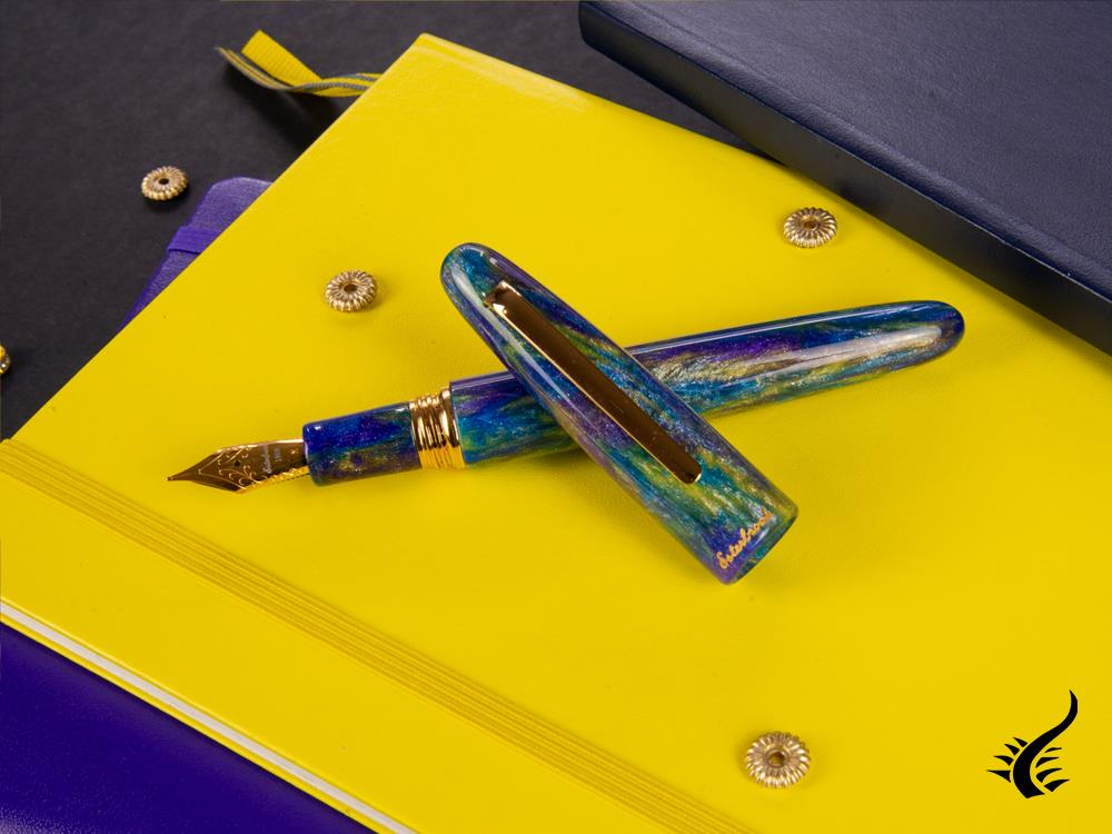 Esterbrook Estie Oversize Peacock Fountain Pen, Limited Edition, ESPP10