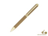 Hugo Boss Verse Taupe Ballpoint pen, Brass, Gold trim, HSU6064Z