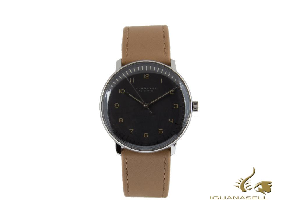 Junghans Max Bill Automatic Watch, J800.1, 38mm, Anthracite, 027/3401.04