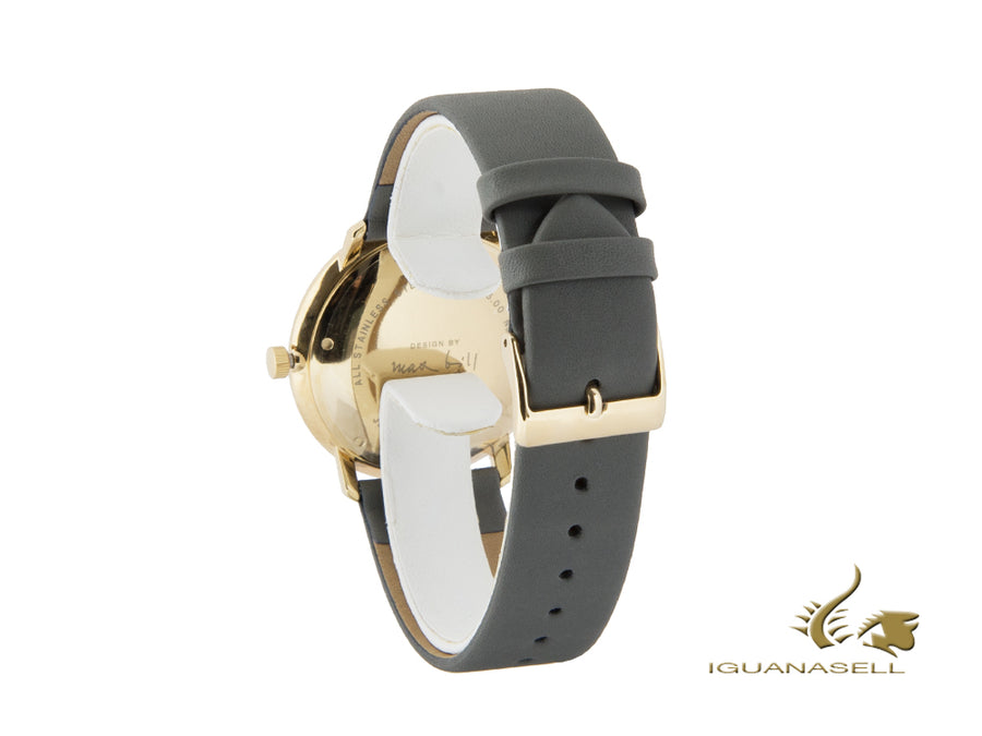 Junghans Max Bill Automatic Watch, J800.1, PVD Gold, 38mm, Day, 027/7805.00