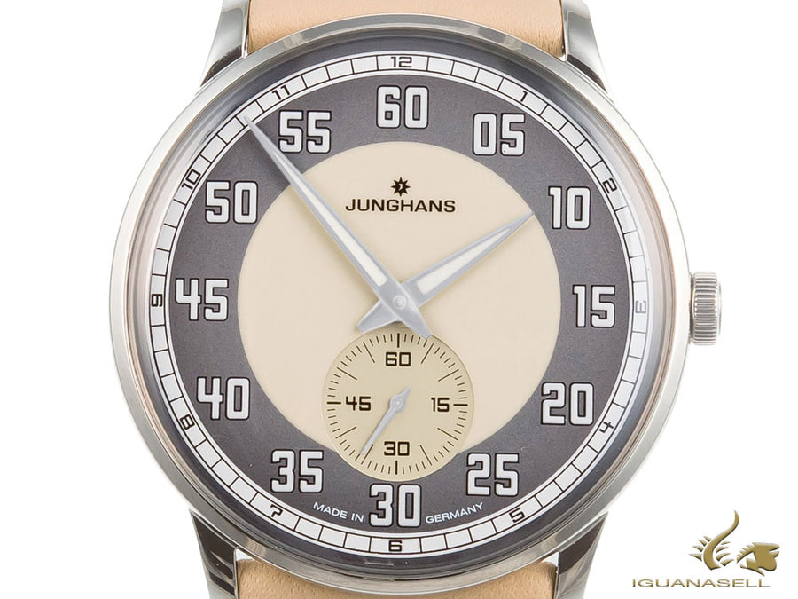 Junghans Meister Driver  Handaufzug, Manual winding, J815.1, 37,7mm, 027/3608.00
