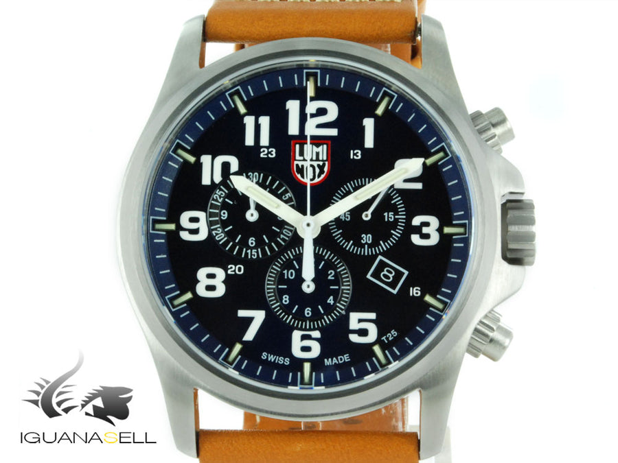 Luminox Atacama Field Chronograph Alarm Quartz Watch, Stainless Steel, XL.1944