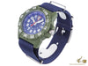 Luminox Sea Navy SealQuartz Watch, Blue/Green, 45mm, 20 atm, XS.3503.ND
