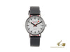 Mondaine Classic Automatic Watch, White, 33mm, Day, A128.30008.16SBB