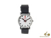 Mondaine SBB Evo Quartz watch, Polished stainless, White, 35mm, A658.30300.11SBB