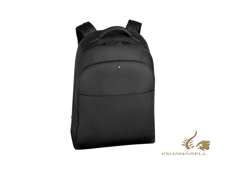 Montblanc Extreme 2.0 Backpack, Leather, Black, Laptop compartment, Zip, 123938