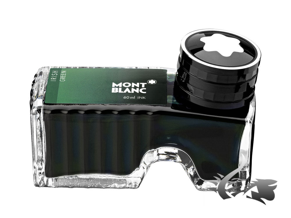 Montblanc Ink Bottle Irish Green, 60ml, Crystal, 106273
