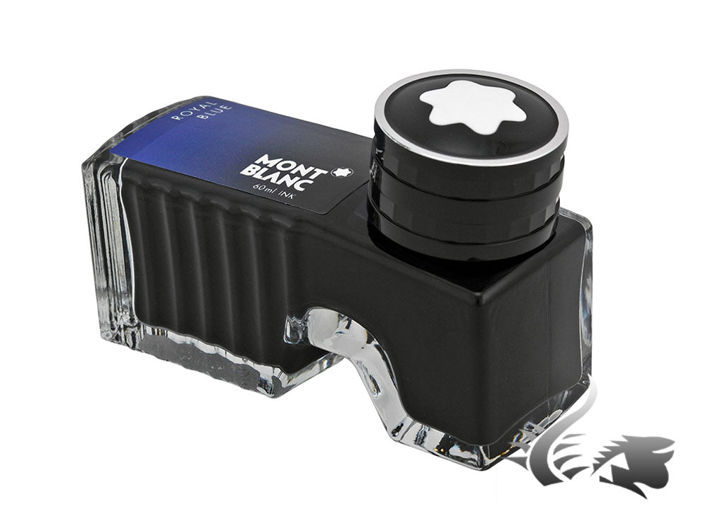Montblanc Ink Bottle Royal Blue, 60ml, Crystal, 105192