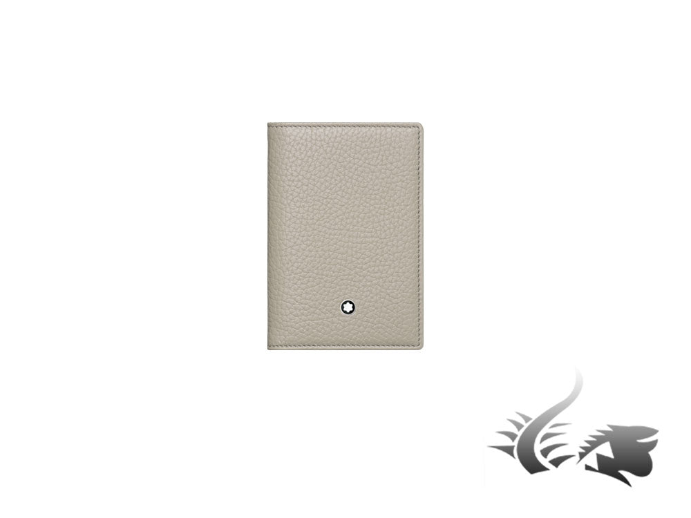 Montblanc Meisterstück Soft Grain Credit card holder, Leather, White, 9 Cards