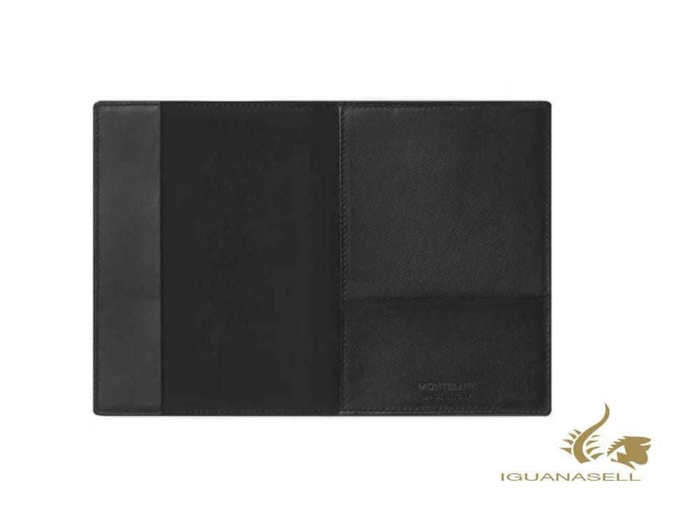 Montblanc Meisterstück Soft Grain Travel Passport Holder, Leather, Black, 126261