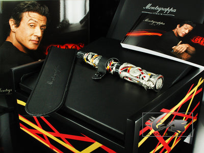 Montegrappa Chaos Silver Rollerball Pen by S. Stallone