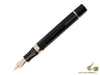 Montegrappa Ducale Fountain Pen, Brown Mother of Pearl Resin, Rose gold