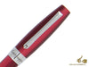Montegrappa Felicità Red Velvet Ballpoint Pen, Mother of Pearl Resin, ISFARBIR