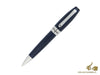 Montegrappa Fortuna Ballpoint pen, Blue Resin, Palladium trim, ISFORBPD