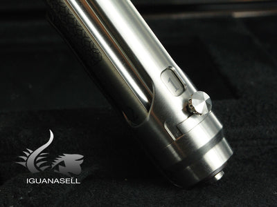 Montegrappa Q1 Limited Edition Fountain Pen, Titanium, Leather