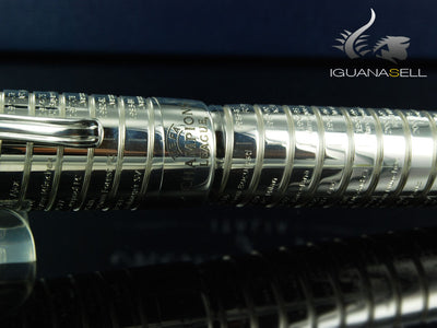 Montegrappa UEFA Champions League Limited Edition Fountain Pen, Silver