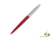 Parker Jotter Ballpoint Pen, Stainless Steel, Lacquer, Chrome Trim, 1953187