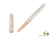 Parker Sonnet Fountain Pen, Silver .925, Rose Gold Trim, 1931485