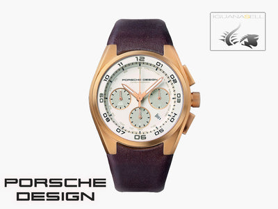 Porsche Design Dashboard Automatic Watch, ETA 7753, Cronograph, 18Kt Rose gold