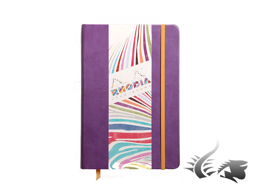 Rhodia - Rhodiarama Notebook, A5, Hard cover, Violet, 192 pages, 118750C