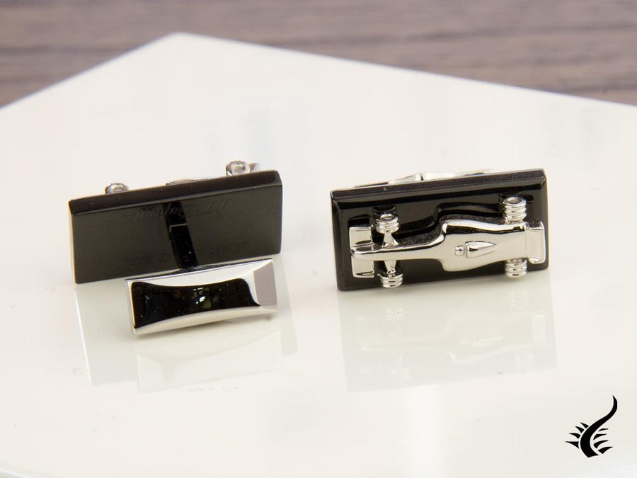 S.T. Dupont Défi McLaren Cufflinks, Stainless steel, PVD, 5526, Limited Edition