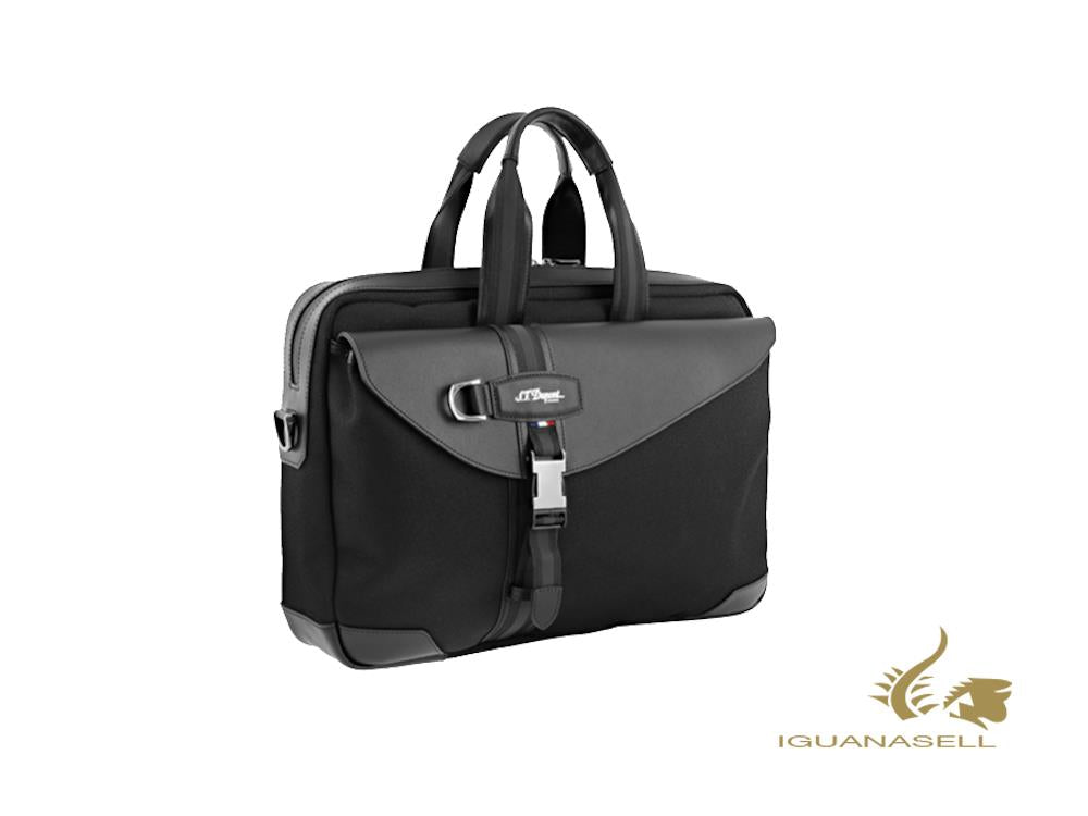 S.T. Dupont Défi Millenium Document case, Leather, Black, Zip, 174001