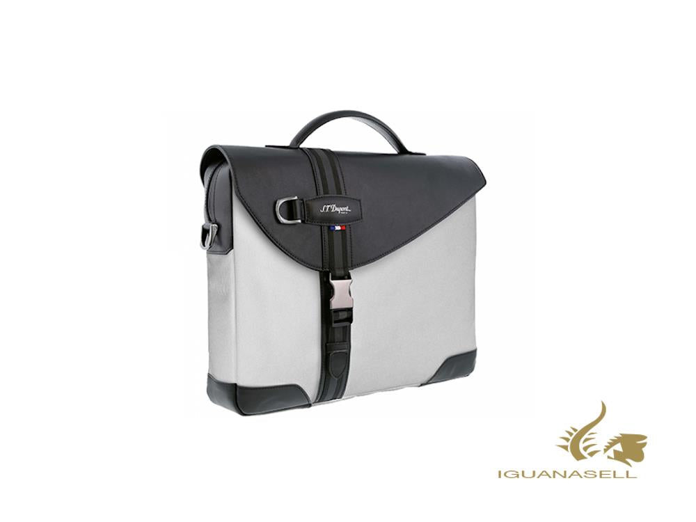S.T. Dupont Défi Millenium Document case, Leather, White, Zip, 175000