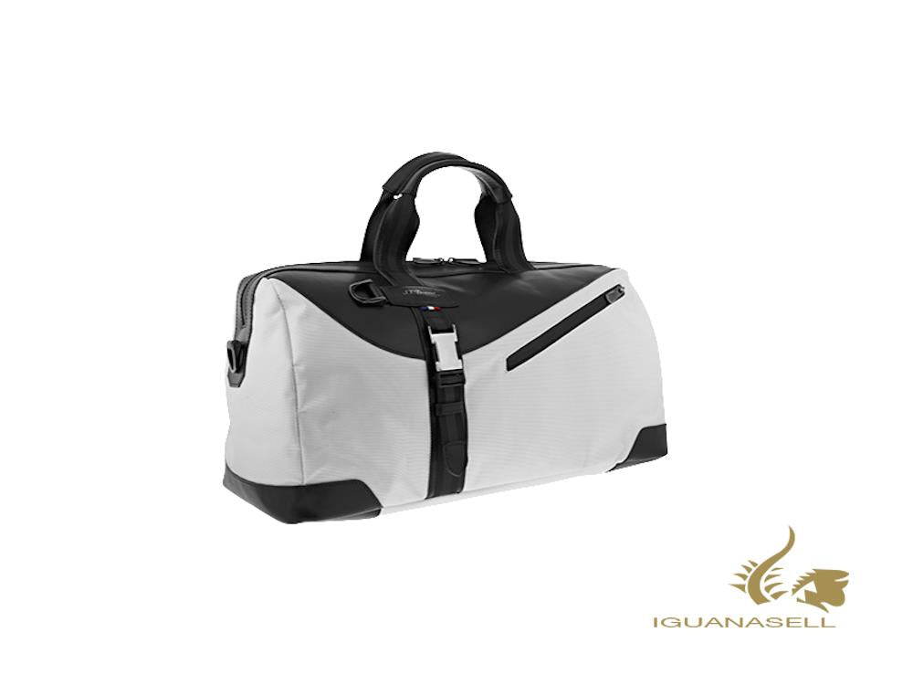 S.T. Dupont Défi Millenium Travel bag, Leather, White, Zip, 175008