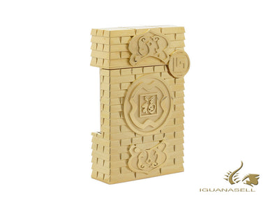 S.T. Dupont Limited Edition Haute Création Goat Exclusive Lighter, Gold, 016196