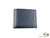 S.T. Dupont Line D Wallet, Blue, Leather, 6 Cards, 3 Compartments, 180900