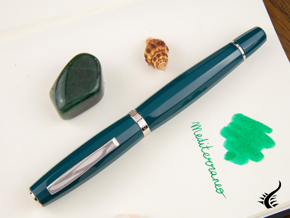 Scribo Feel Mediterraneo Fountain Pen, Limited Edition, FEEFP11PL1803