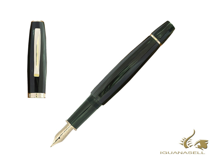 Scribo Feel Verde Bosco Fountain Pen, Limited Edition, FEEFP04LG1803