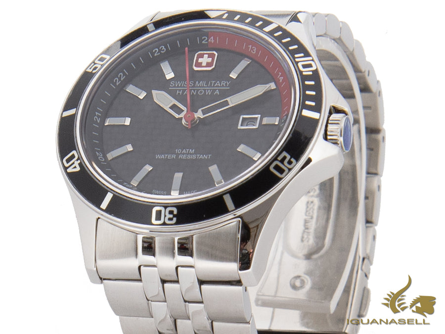 Swiss Military Hanowa Flagship Racer Quartz Watch, 42 mm, 6-5161.2.04.007.04